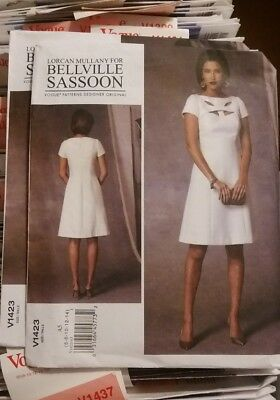 V14023 Lorcan Mullany Bellville Sassoon SZ 6 8 10 12 14  Vogue Sewing Pattern