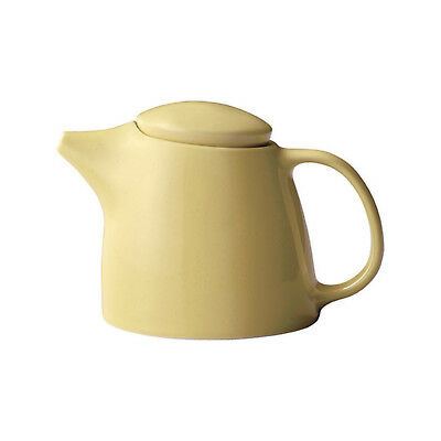 NEW Kinto Topo Porcelain Teapot 400ml : Yellow