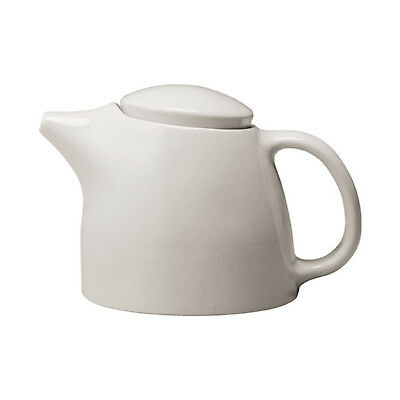 NEW Kinto Topo Porcelain Teapot 400ml : White