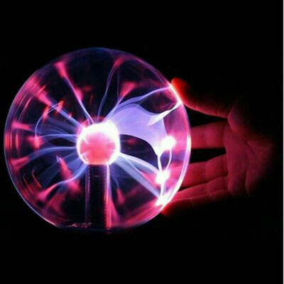 4 inch USB Magic Crystal Globe Desktop Light Lightning Lamp Plasma Ball Sphere