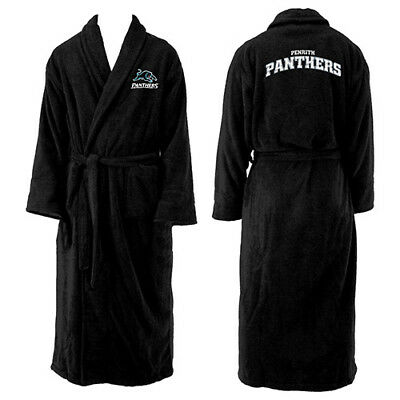NEW 2018 Penrith Panthers NRL Adult Polyester Dressing Gown Bath Robe Gift