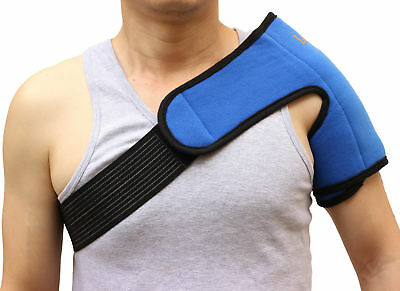 Heat Therapy Wrap Reusable Hot Cold Ice Gel Pack Shoulder Pain Relief First Aid