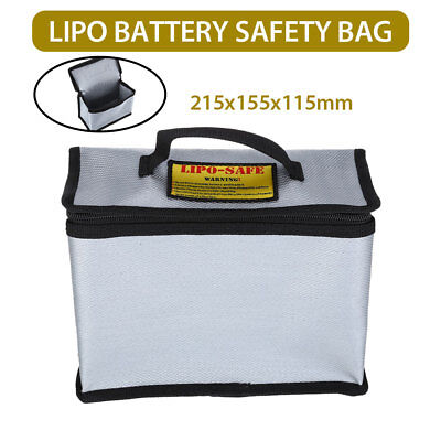 Fireproof Explosionproof Drone LiPo Battery Safety Storage Bag Protective Charge