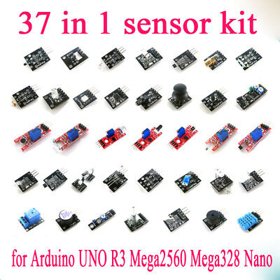 1set 37 in 1 Sensor Module Kit Set for Raspberry Pi & Arduino& MCU Education