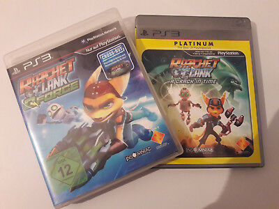 SONY PS3 Ratchet & Clank: A Crack in Time + Q-Force 2Spiele PlayStation 3 je OVP