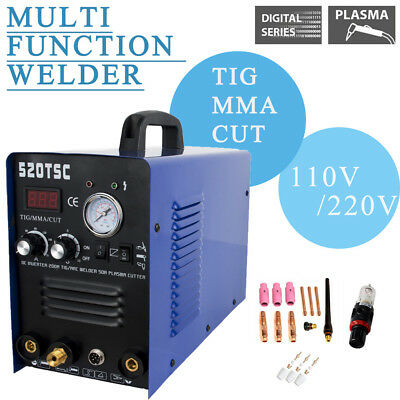 Household 3in1 Multi TIG/MMA/Cut Welder Welding Machine 520tsc DC 110/220V