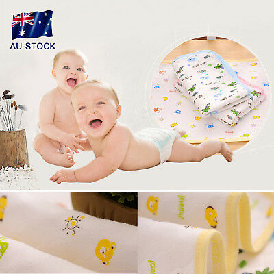 AU STOCK Newborn Baby Changing Pad For Infant Child Bed Waterproof Changing Mat