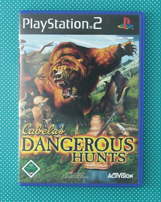 Cabela's Dangerous Hunts (Sony PlayStation 2, 2003, DVD-Box)