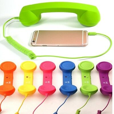 Phone Retro Receiver Tablet PC Handset For All Mobile phones Telephone 3.5mm