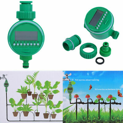Automatic Digital LCD Electronic Home Water Timer Garden Irrigation Controller m