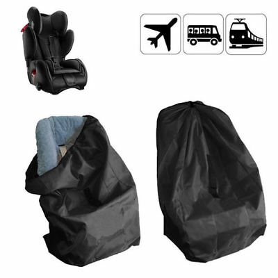 Portable Baby Child Car Safety Seat Travel Bag Dust Cover Stroller Bags Black UK