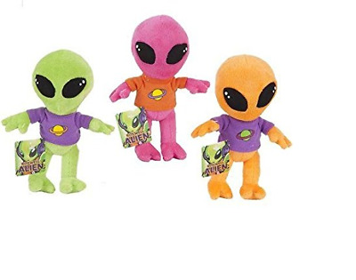 SALE: New Plush soft Stuffed Toy Alien Light Wt Baby/Kids Gift-bright Color x 1