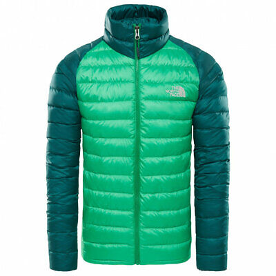 low priced 29fc9 6ce79 THE NORTH FACE trevail jacket primary green new s m l xl giacca piumino  piuma d'