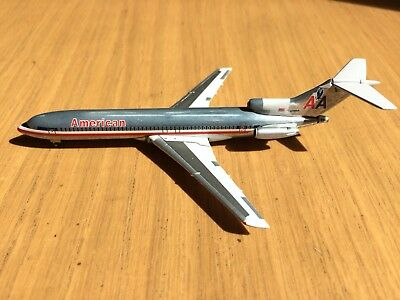 GEMINI JETS 1:400, American Airlines, Boeing 727, N718Aa,(Unboxed Model)