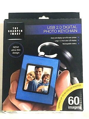 Sharper Image Digital Photo Keychain USB 2.0 NIB