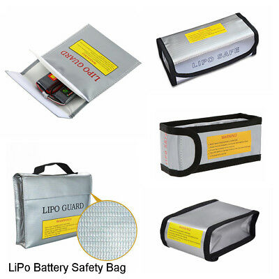 1Pc Fireproof RC LiPo Battery Explosion-Proof Safety Bag Safe Guard Charge Sack-