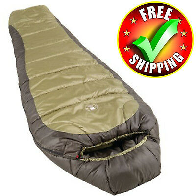 Cold Weather Sleeping Bag Degree Extreme Outdoor Camping Portable Large New