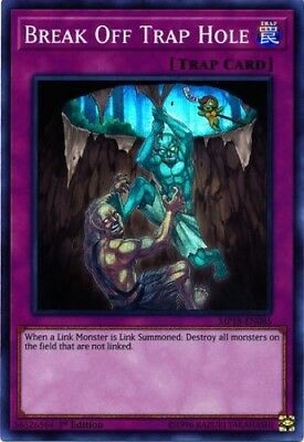 Break Off Trap Hole (MP18-EN085) - Super Rare - 1st Edition