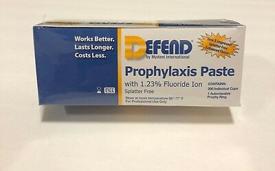 Defend Prophy Paste Coarse Assorted Bx/200 Pp1000
