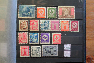 Lot Stamps Germany Reich+Occupation Mnh** (F111006)