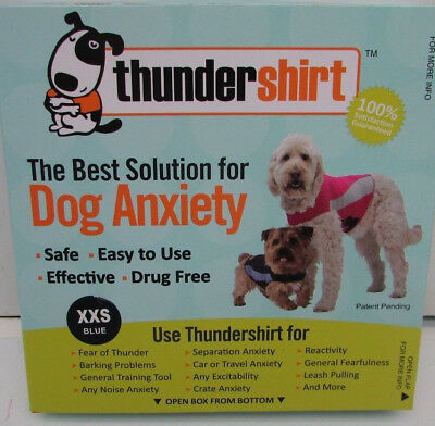 Thundershirt Polo Dog Anxiety Solution, XX Small Blue