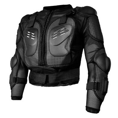 Motorcycle Racing Full Body Armor Jacket Spine Chest Protective Gear Motocross