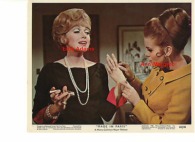 Made In Paris Ann Margret Edie Admas Fashion Vintage Original 8X0 Color Still