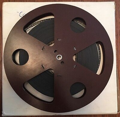 "Rare Vintage 9.5mm Film Reel - ""Cowboy Tony"" 1937 Western, 400ft Metal Reel"
