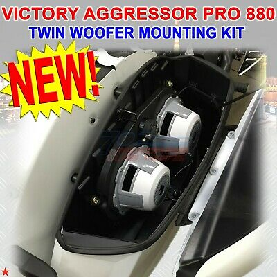 For Victory Touring American Hard Bag Victory Aggressor Pro 880 Twin Woofer Kit