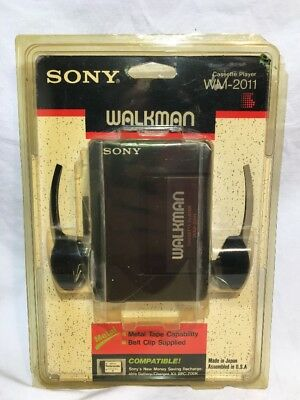 SONY WALKMAN WM-2011   Cassette Player  IN SEALED PACKAGE