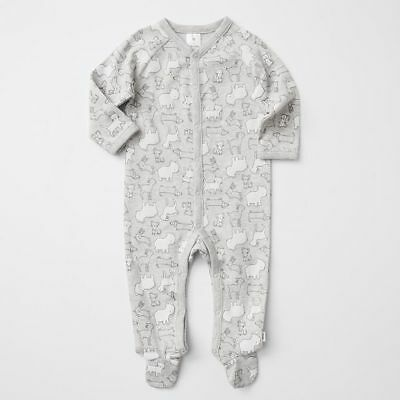 NEW Baby Snap Button Print Coverall
