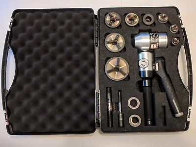 Alfra 01655 Compact Combi Hand Hydraulic Knockout Punch Kit
