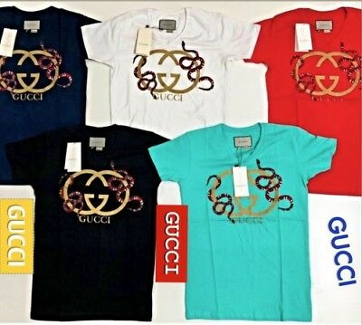826886de Gucci Mens T-Shirts Brand New With Tags Free Shipping Trusted USA Seller