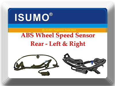 2 x ABS Wheel Speed Sensor Rear Left & Right Fits Caliber Compass Patriot W/4WD