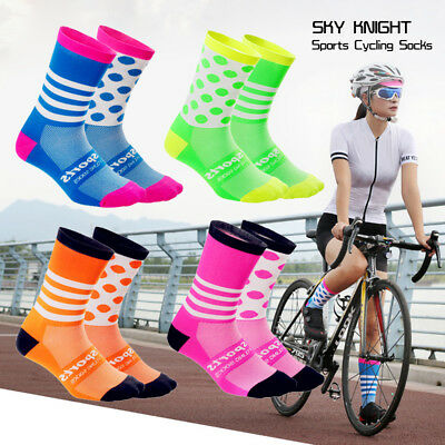 Men Women Sports Socks Bicycle Cycling Riding Running Racing Outdoor Socks