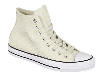 4cca6936f07da Converse Femmes Chuck Taylor All Star Montantes Taille 6 Chamois Beige Blanc  Hi