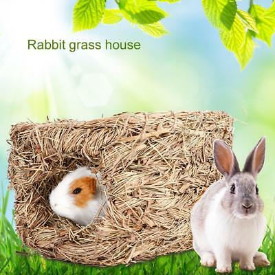 Rabbit Grass Chew Mat Cage Small Animal Hamster Guinea Pig Cage Bed House Bed