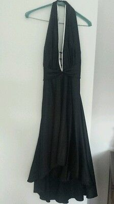 Garfunkle black and white cocktail dress size 10