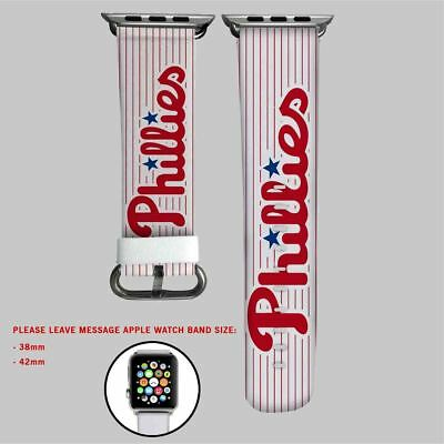 St Louis Cardinals Mlb Custom Wristwatch Bands Apple Watch Band Fast Color Watches, Parts & Accessories