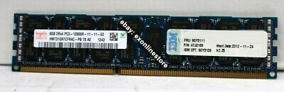 90Y3109 - IBM Original 8GB (1x8GB, 2Rx4, 1.5V) PC3-12800 CL11 ECC DDR3 1600MHz