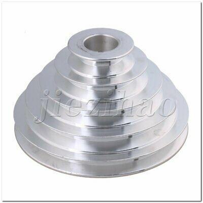 OD 54-150mm 5 Step Pagoda Pulley Timing Belt 28mm Bore for A Type V-Belt