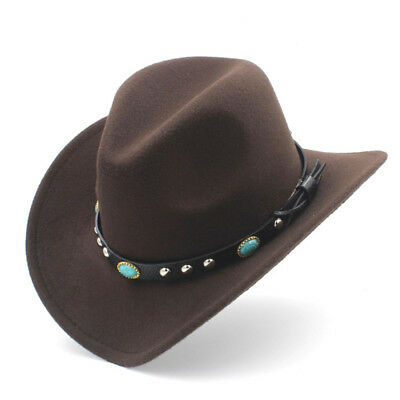 Cute Kids Boys Girls Fashion Western Cowboy Hat Child Clothing Photography Cap