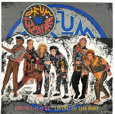"""Drum Theatre - Living In The Past - 7"""" Record Single"""