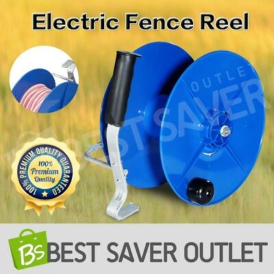 Electric Geared Wind Up Reel UV Stabilized Fence Reel with Crank Handle