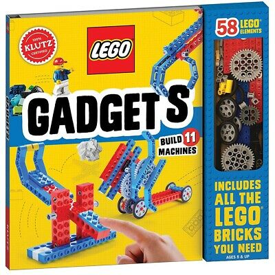 Klutz Lego Gadgets - STEM Construction & Engineering Kit for Boys and Girls