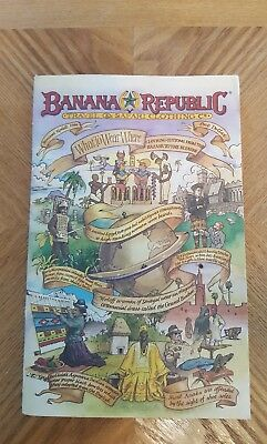 Banana Republic Travel & Safari Clothing Co. Catalogue Summer Update  1986