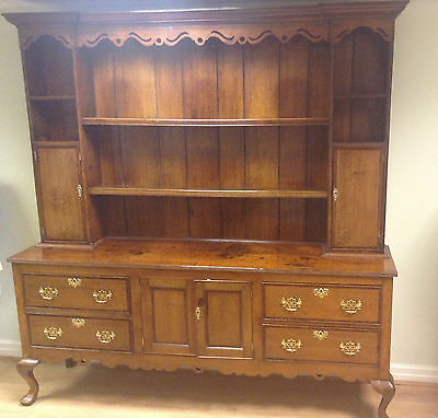 Georgian Oak Shropshire Dresser On Cabriole Legs ci1760