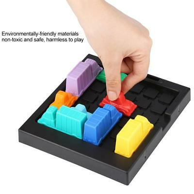 Rush Hour Traffic Jam Toy Logic Game Boys Girls Busy Hour Puzzle Learning Toy