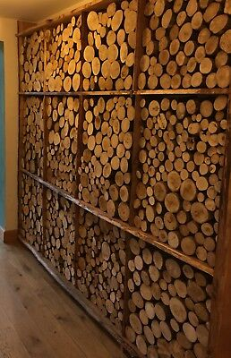 Lovely Display Logs, Decorative Firewood Logs, 50cm x 45cm Area