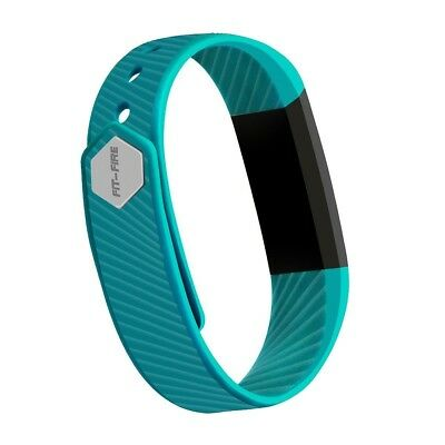 (Teal) - Fitness Tracker,FIT-FIRE F1 Activity Tracker Wearable Smart Band